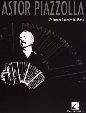 28 Tangos arranged for piano Astor Piazzolla Partition laflutedepan