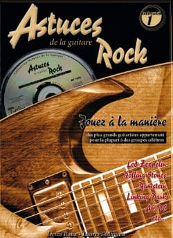 COUP DE POUCE - Astuces de la Guitare Rock Volume 1 - Sheet Music - di-arezzo.co.uk