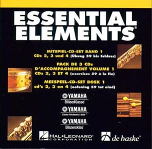 CD Essential Elements. Accompagnement Volume 1 laflutedepan