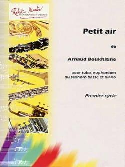 Arnaud Boukhitine - Wenig Luft - Partition - di-arezzo.de