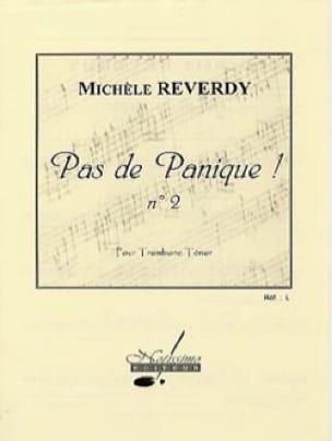 Michèle Reverdy - Pas de Panique ! N° 2 - Partition - di-arezzo.fr
