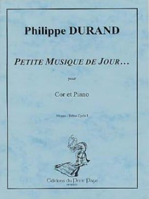 Philippe Durand - Little Day Music ... - Sheet Music - di-arezzo.com