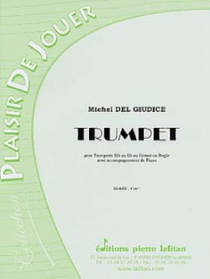 Trumpet - Michel Del Giudice - Partition - laflutedepan.com