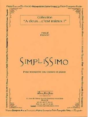 Pascal Proust - Simplissimo - Partition - di-arezzo.fr