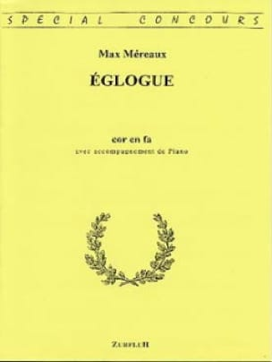 Max Méreaux - Eclogue - Sheet Music - di-arezzo.com