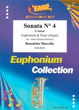 Sonata N° 4 in G Minor - Benedetto Marcello - laflutedepan.com
