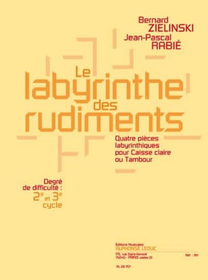 Zielinski Bernard / Rabié Jean-Pascal - The Labyrinth Of The Basin - Sheet Music - di-arezzo.com