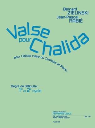 Zielinski Bernard / Rabié Jean-Pascal - Valse Pour Chalida - Partition - di-arezzo.fr