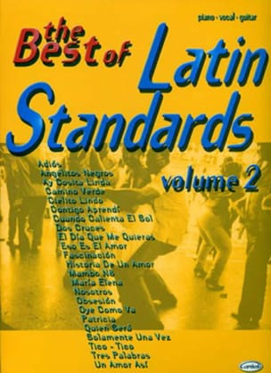 The Best Of Latin Standards Volume 2 - Sheet Music - di-arezzo.co.uk