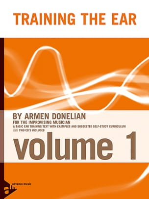 Armen Donelian - Training The Ear Volume 1 - Partition - di-arezzo.fr