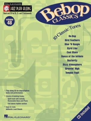 Jazz play-along volume 48 - Bebop Classics - laflutedepan.com