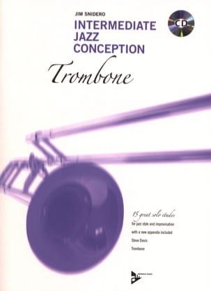 Jim Snidero - Intermediate Jazz Design - 15 Great Solo Etudes - Sheet Music - di-arezzo.com