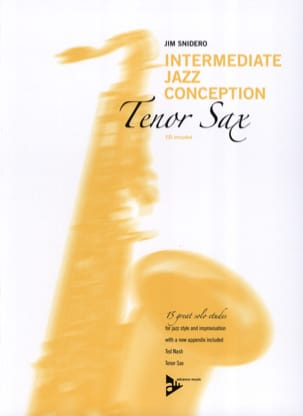 Jim Snidero - Intermediate Jazz Design - 15 Great Solo Etudes - Sheet Music - di-arezzo.com