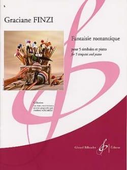 Graciane Finzi - Fantaisie Romantique - Partition - di-arezzo.fr