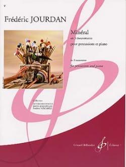 Minéral Frédéric Jourdan Partition Multi Percussions - laflutedepan