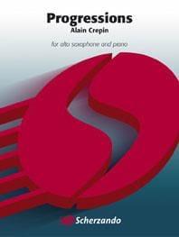 Alain Crepin - Progressions - Partition - di-arezzo.fr