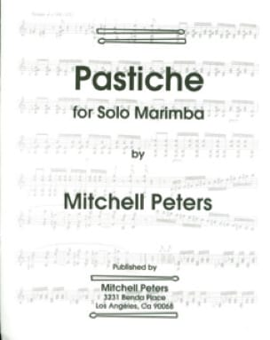 Pastiche Mitchell Peters Partition Marimba - laflutedepan
