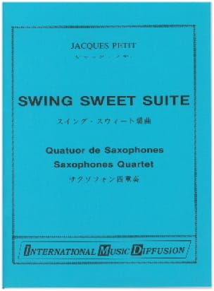 Swing Sweet Suite - Jacques Petit - Partition - laflutedepan.com