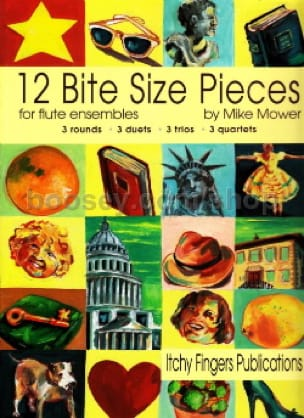 Mike Mower - 12 Bite Size Pieces - Sheet Music - di-arezzo.com