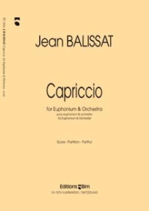 Capriccio - Jean Balissat - Partition - Tuba - laflutedepan.com