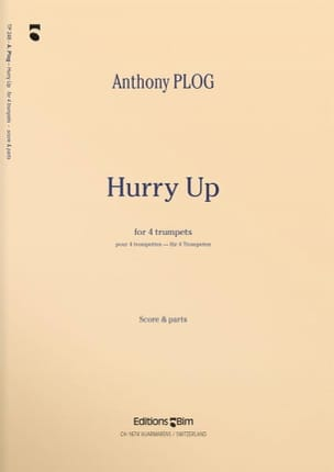 Hurry Up Anthony Plog Partition Trompette - laflutedepan