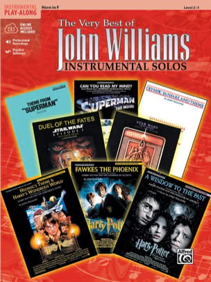 The very best of John Williams - Instrumental solos laflutedepan
