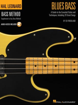 Ed Friedland - Blues Bass - Partition - di-arezzo.fr