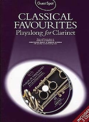 - Guest Spot - Classical Favorites Playalong For Clarinet - Sheet Music - di-arezzo.com