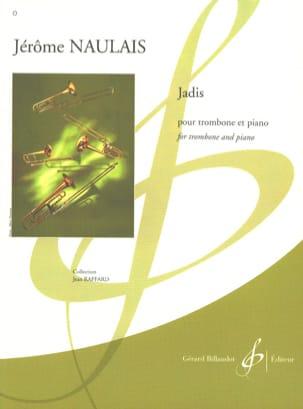 Jérôme Naulais - Jadis - Partition - di-arezzo.fr