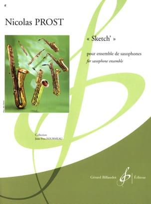 Sketch' - Nicolas Prost - Partition - Saxophone - laflutedepan.com