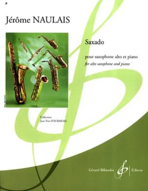 Jérôme Naulais - Saxado - Partition - di-arezzo.fr