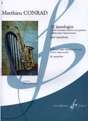 Matthieu Conrad - 32 Jazzologies - Sheet Music - di-arezzo.co.uk