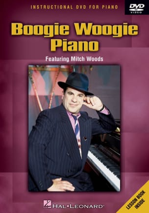 Mitch Woods - DVD - Boogie Woogie Piano - Sheet Music - di-arezzo.co.uk