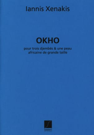 Iannis Xenakis - Okho - Sheet Music - di-arezzo.co.uk