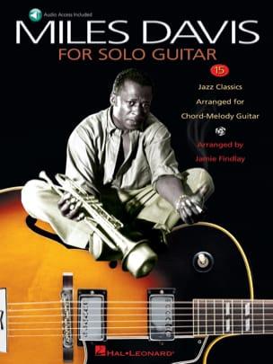 Miles Davis - Miles Davis For Solo Guitar - Sheet Music - di-arezzo.co.uk