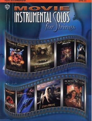 Movie instrumental solos for strings - laflutedepan.com