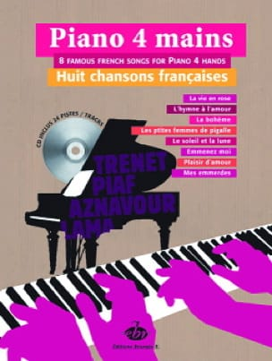 Eight French Songs - Sheet Music - di-arezzo.co.uk