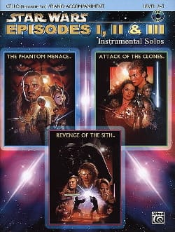 John Williams - Star Wars episodes 1, 2 - 3 - instrumental solos - Sheet Music - di-arezzo.com