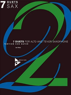 7 Duets For Alto And Tenor Saxophone Joe Viera Partition laflutedepan