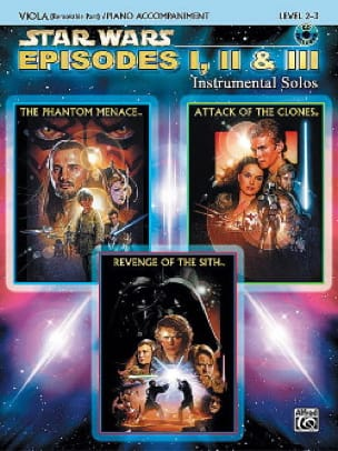 John Williams - Star Wars episodes 1, 2 - 3 - instrumental solos - Sheet Music - di-arezzo.co.uk