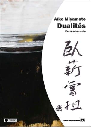 Dualités Aïko Miyamoto Partition Multi Percussions - laflutedepan