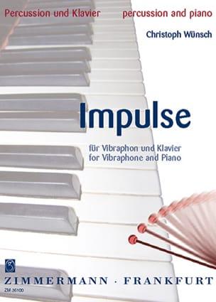 Christoph Wünsch - Impulse - Partition - di-arezzo.fr