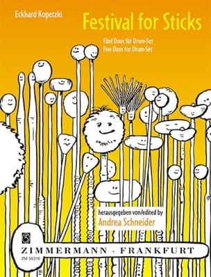 Festival for sticks - Eckhard Kopetzki - Partition - laflutedepan.com