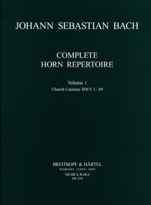 BACH - Complete Horn Repertoire Volume 1 - Sheet Music - di-arezzo.co.uk