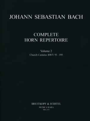 BACH - Complete Horn Repertoire Volume 2 - Sheet Music - di-arezzo.co.uk