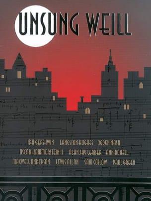 Kurt Weill - Unsung Weill - Sheet Music - di-arezzo.co.uk
