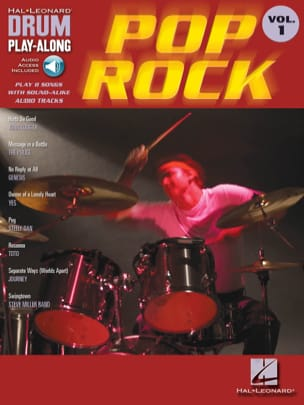 Drum play-along volume 1 - Pop Rock - Sheet Music - di-arezzo.co.uk