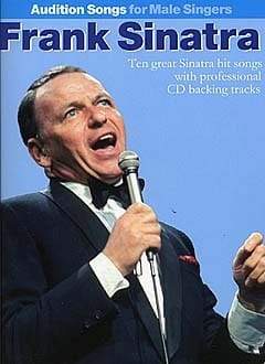 Frank Sinatra - Audition Songs For Male Singers - Sheet Music - di-arezzo.co.uk