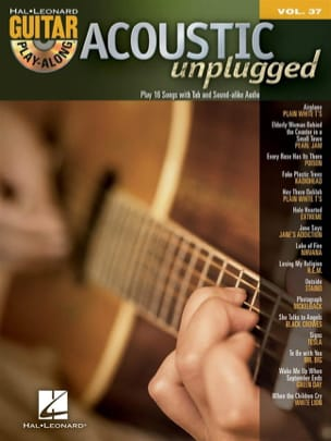 Guitar Play-Along Volume 37 - Acoustic Metal - laflutedepan.com