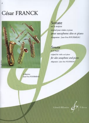 César Franck - Sonata In The Greater Violin - Sheet Music - di-arezzo.com